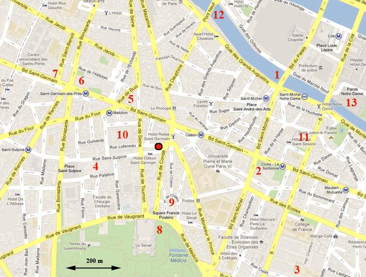 Le quartier studio en location saisonni re paris saint for Agence immobiliere 6eme arrondissement paris
